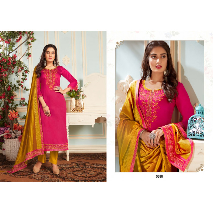 Kessi Silk Shine Vol4 Jam Cotton Silk Salwar Suits