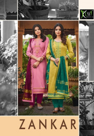 Kessi Zankar Jam Silk Branded Salwar Suits