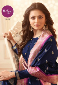 LT Nitya Vol 157 Silk Jacquard Salwar Suits