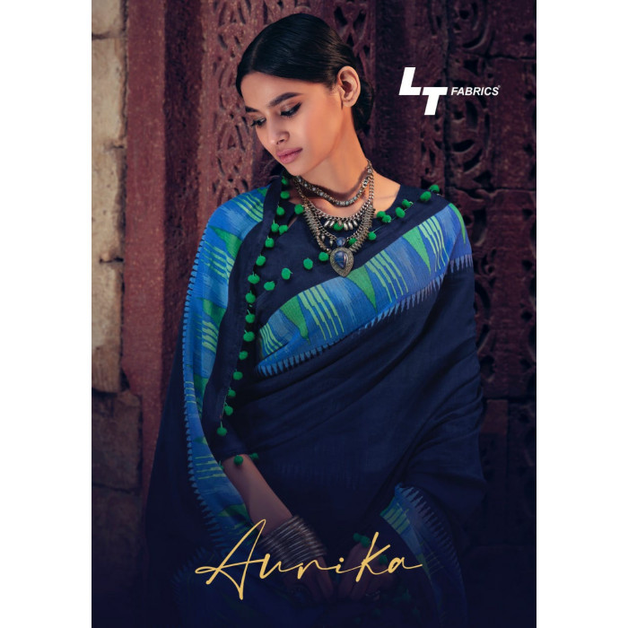 LT Aurika Cotton Silk Comfort Wear Soft Sarees