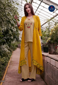 Lymi Genesis Rayon With Hand Work Kurtis