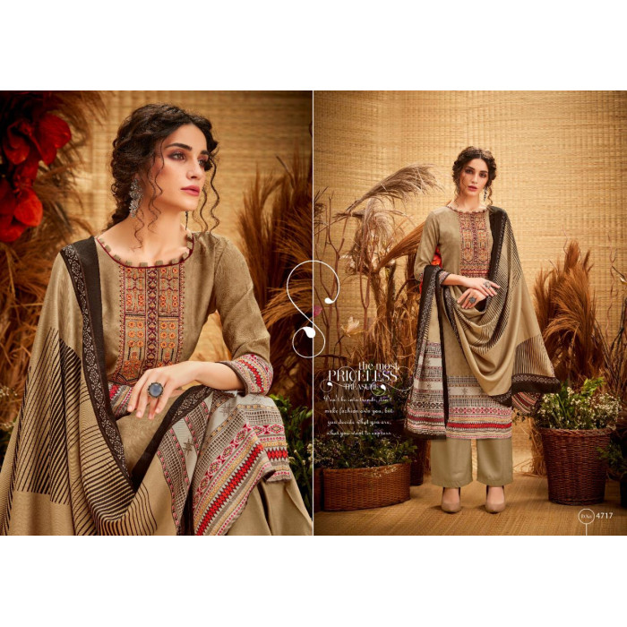 Levisha Pakiza Vol 2 Pashmina Dress Materials