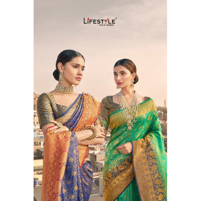 Lifestyle Maliha Nylon Sarees Collection