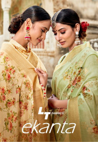 LT Ekanta Stylist Party Special Poly Modal Sarees