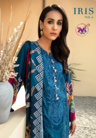 M3 Fashion Iris Vol 4 Jam Cotton Salwar Suits