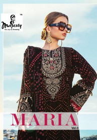 Majesty Maria B Hit Vol 3 Jam Silk Salwar Suits