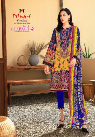 Mishri Gulbagh Vol 2 Pure Cotton Dress Materials