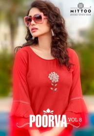 Mittoo Poorva Vol 8 Ladies Top Collection