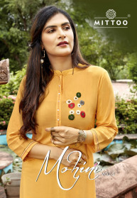 Mittoo Mohini Vol 2 Liva Rayon Kurtis With Pants