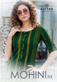 Mittoo Mohini Nx Rayon Kurtis With Pant Catalog