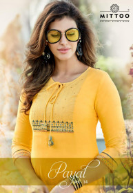 Mittoo Payal Vol 14 Rayon Knee Length Kurtis