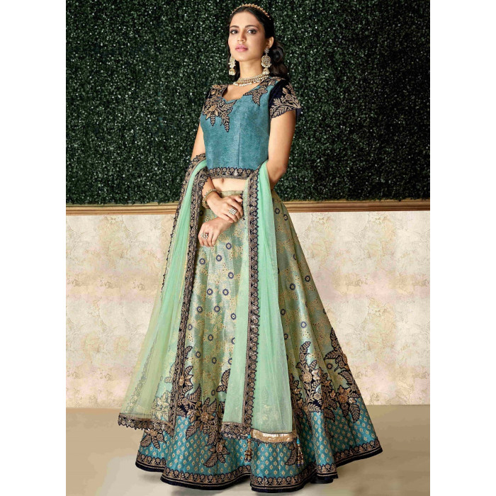 Heavy Designer Bridal Wear Lehenga Choli Catalog