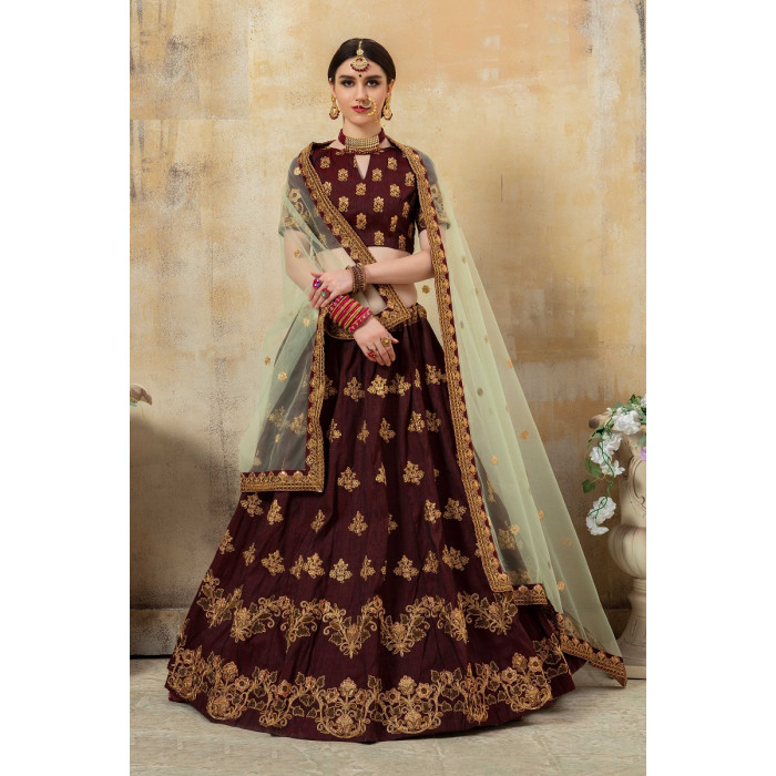Heavy Designer Bridal Wear Lehenga Choli