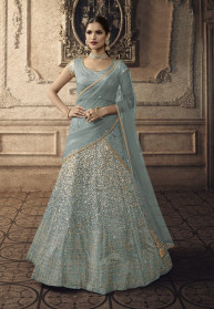 Heavy Designer Bridal Wear Indian Lehenga Choli