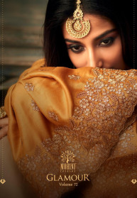Mohini Glamour Vol 72 Slub Silk Salwar Suits