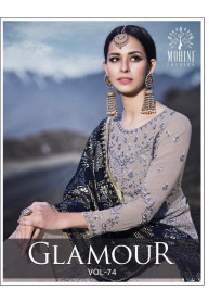 Mohini Glamour Vol 74 Party Wear Salwar Suits