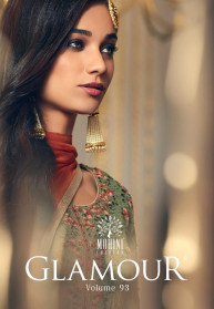Mohini Glamour Vol 93 Georgette Heavy Salwar Suits