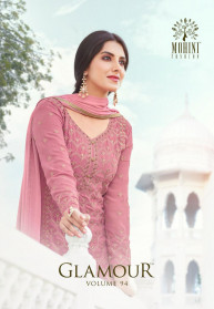 Mohini Glamour Vol 94 Heavy Georgette Salwar Suits