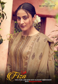Mumtaz Arts Fiza Jam Satin Dress Materials