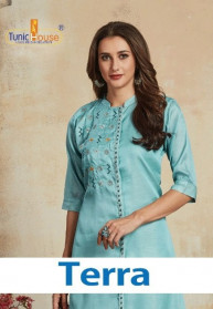 Neha Fashion Terra Silk New Fashion Kurtis