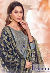 Raghav Royals Rumani Vol 2 Modal Silk Dress Materials