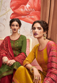 Ramaiya Shalimar Jam Silk Dress Materials