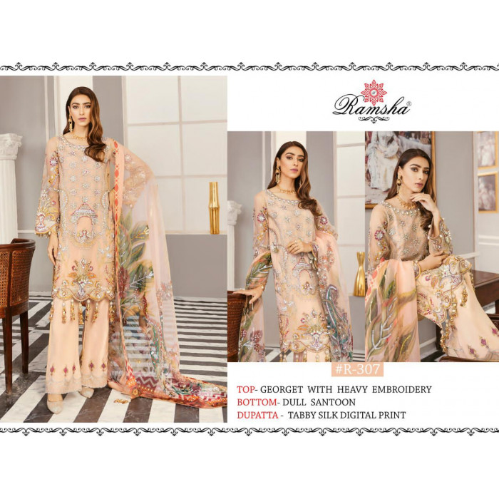 Ramsha Vol 11 Georgette Pakistani Salwar Suits