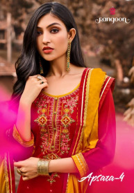 Rongoon Apsara Vol 4 Jam Silk Salwar Suits