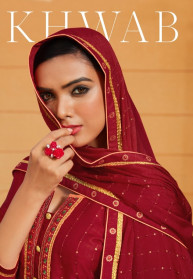 Rangoon Khwab Modal Satin Readymade Salwar Suits