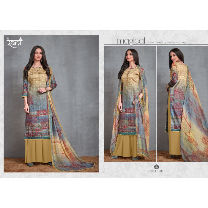 Rani Group Zara Jam Satin Digital Salwar Suits