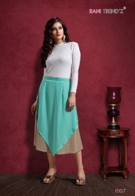 Rani Trendz Chini Mini Georgette Skirt Catalog