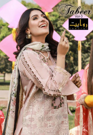 Rawayat Tabeer Vol 3 Lawn 2021 Pakistani Suits