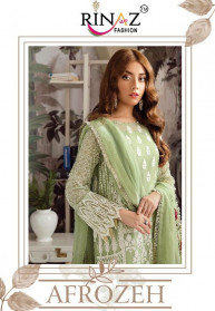Rinaz Afrozeh Faux Georgette Salwar Suits