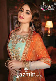 Rinaz Jazmin Vol 10 Georgette Salwar Suits