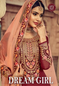 Rsf Dream Girl Pure Georgette Salwar Suits