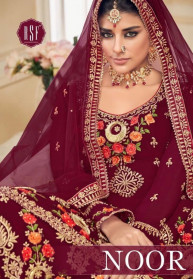 Rsf Noor Sarara Pure Georgette Salwar Suits