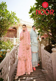 Rsf Noor Pure Fox Georgette Heavy Salwar Suits