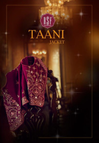 Rsf Taani Jacket Pure Silk Jacquard Salwar Suits