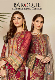 Shree Fabs Baroque Embroidered Collection Suits