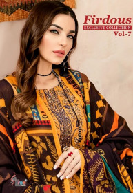 Shree Fabs Firdous Vol 7 Cotton Salwar Suits