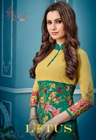 Shree Fabs Lotus Faux Georgette Salwar Suits