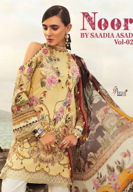 Shree Fabs Noor By Sadiya Asad Vol 2 Suits