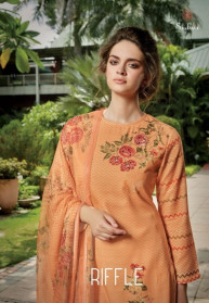 Sahiba Sudriti Riffle Pashmina Dress Materials