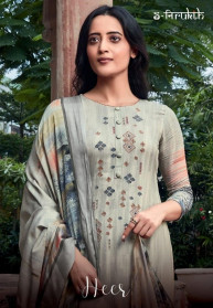 Sahiba Nirukht Heer Cotton Stain Dress Materials