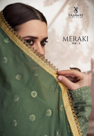 Sajawat Meraki Vol 2 Heavy Faux Georgette Gowns