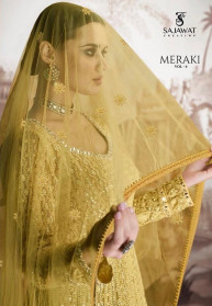 Sajawat Meraki Vol 4 Fox Georgette Salwar Suits