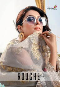 Saniya Trendz Rouche Vol4 Cambric Pakistani Suits