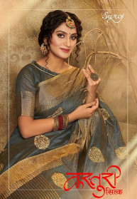 Saroj Kasturi Silk Jari Exclusive Sarees Catalog
