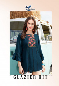 Seriema Glazier Hits Heavy Rayon Tops Catalog