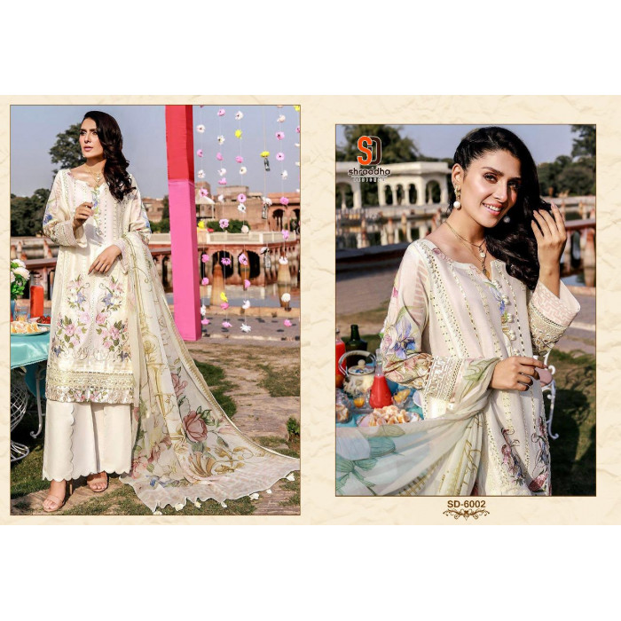 Shraddha Charizma Vol 6 Cotton Pakistani Suits